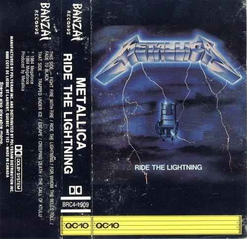 ride the lightning megaforce banzai canada cassette